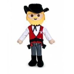 PLAYMOBIL NUEVO PELUCHE SHERIFF DEL OESTE