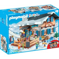 PLAYMOBIL 9280 CASA ALPINA NEVADA