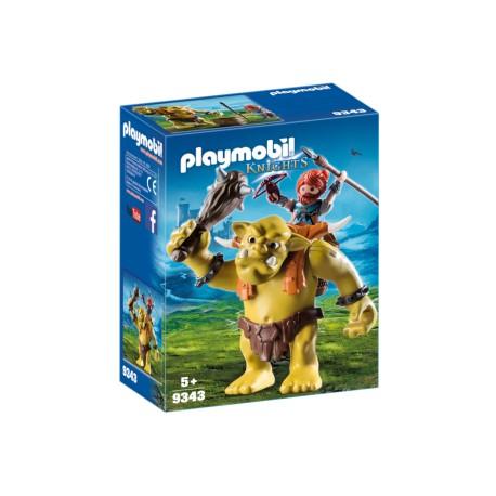 PLAYMOBIL 9343 GUERRERO ENANO CON ORCO