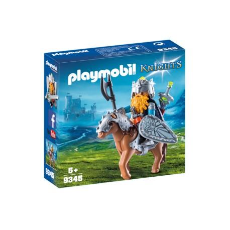 PLAYMOBIL 9345 GENERAL ENANO EN PONY