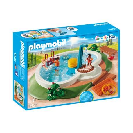 Playmobil 9422 piscina reserva clickandrol for Piscina playmobil