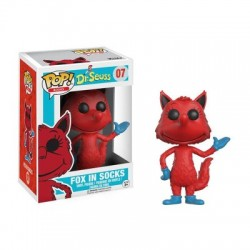 FUNKO POP FOX IN SOCKS FLOCKED EDICION LIMITADA - 07