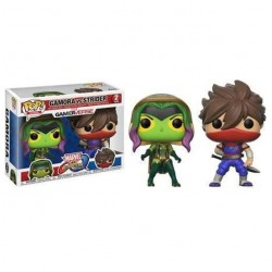 FUNKO POP MARVEL VS CAPCOM GAMORA Y STRIDER