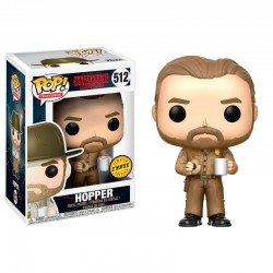 FUNKO POP STRANGER THINGS HOPPER CHASE