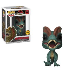 FUNKO POP JURASIC WORLD  DILOPHOSAURUS CHASE