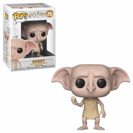 FUNKO POP HARRY POTTER 2018 - DOBBY SNAPPING HIS FINGERS