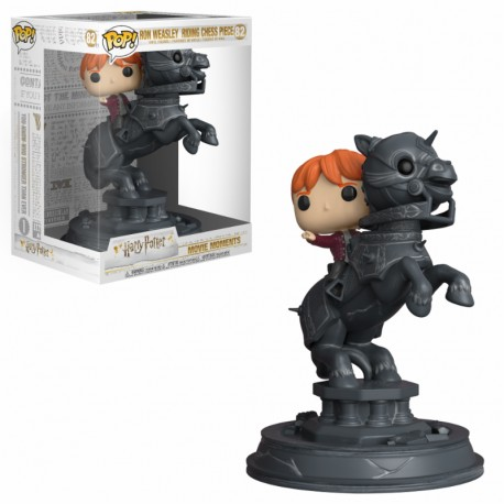 FUNKO POP HARRY POTTER 2018 - RON WEASLEY RIDING CHEES PIECE