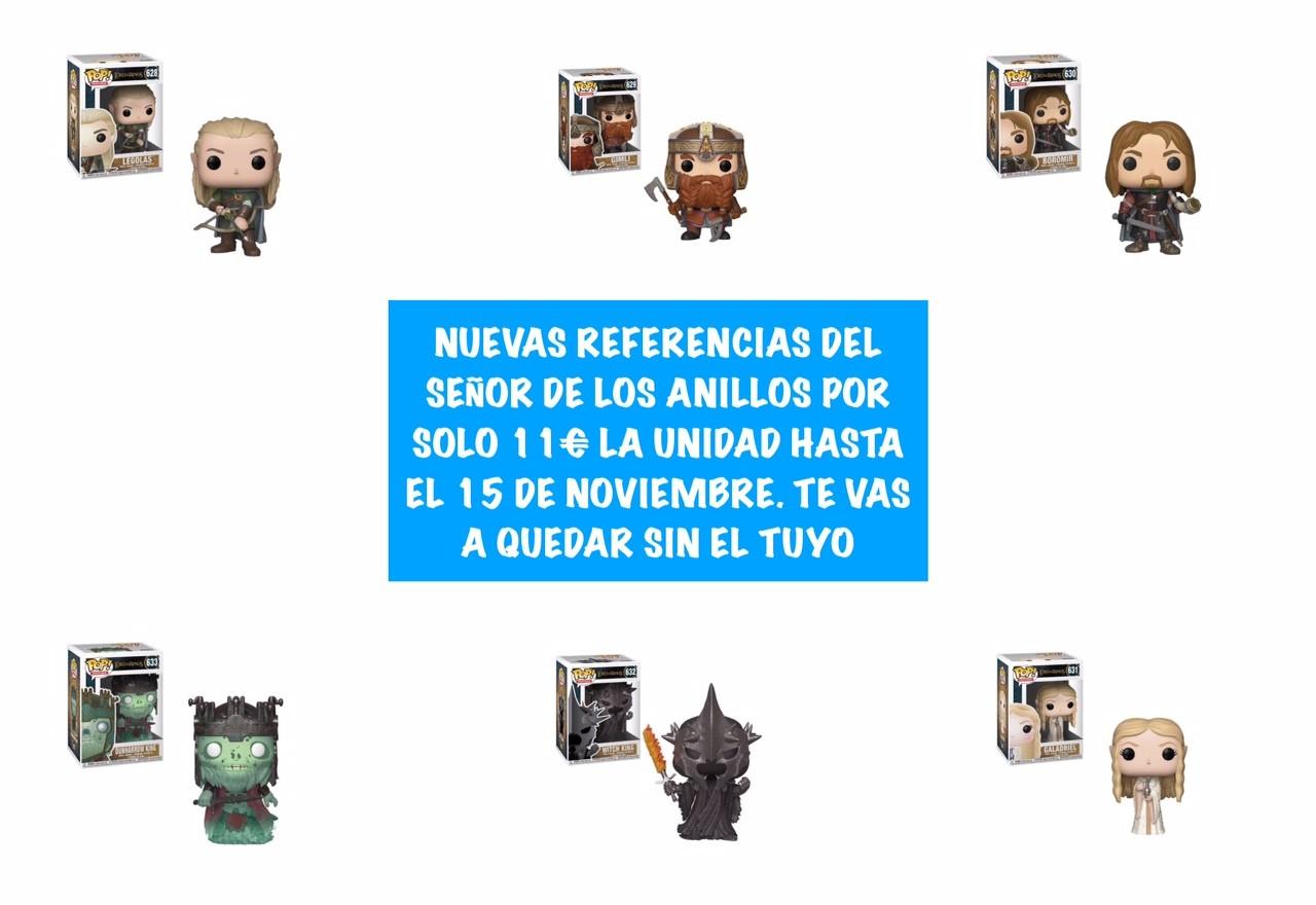 SEÑOR DE LOS ANILLOS 2018