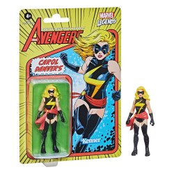 HASBRO MARVEL LEGENDS RETRO COLLECTION 10 CM - CAROL DANVERS