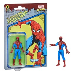 HASBRO MARVEL LEGENDS RETRO COLLECTION 10 CM - THE AMAZING SPIDER-MAN