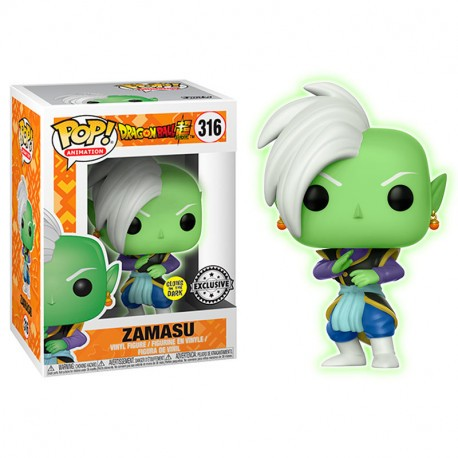 FUNKO POP DRAGONBALL Z - ZAMASU EXCLUSIVO GLOW