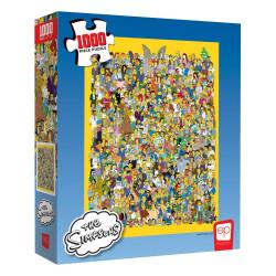 PUZZLE LOS SIMPSONS IMPOSIBLE - 1000 PIEZAS