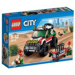 LEGO CITY 60115 TODOTERRENO 4X4