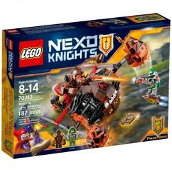 LEGO NEXO KNIGHTS 70313 TRITURADOR DE LAVA DE MOLTOR