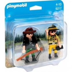 PLAYMOBIL DUO PACK 9217 CAZADOR Y GUARDABOSQUE ( PREVENTA )