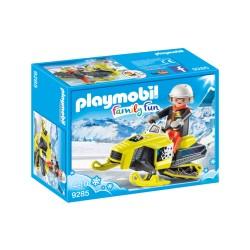 PLAYMOBIL 9285 MOTO DE NIEVE
