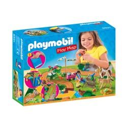 PLAYMOBIL 9231 PLAYMAP CABALLOS