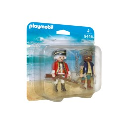 PREVENTA - PLAYMOBIL 9446 DUO PACK PIRATA CON INGLES