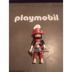 PLAYMOBIL FIGURA GENERAL PIRATA CON ESPADA