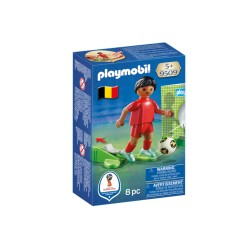 PLAYMOBIL 9509 JUGADOR BELGICA
