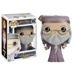 FUNKO POP HARRY POTTER- DUMBLEDORE WITH WND