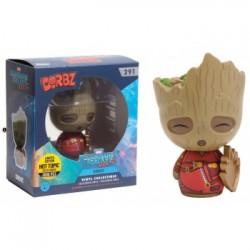 DORBZ GUARDIANES DE LA GALAXIA 2 - YOUNG GROOT WITH SHIELD LIMITED