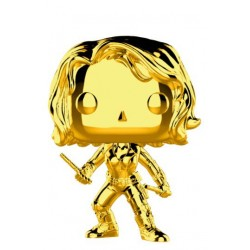 FUNKO POP MARVEL CHROME DORADO - VIUDA NEGRA