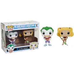 FUNKO POP DC THE JOKER & HARLEY QUINN