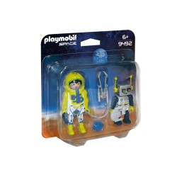 PLAYMOBIL 9492 DUO PACK DEL ESPACIO 2018