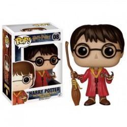 FUNKO POP HARRY POTTER CON ESCOBA QUIDDITCH