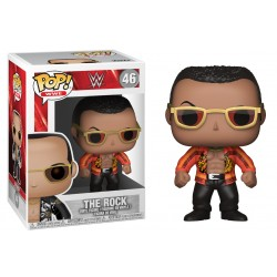 FUNKO POP WWE - THE ROCK CHAQUETA ROJA