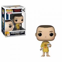 FUNKO POP STRANGER THINGS 2018 - ELEVEN ( BURGER T-SHIRT )