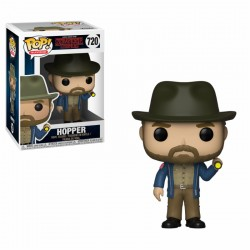 FUNKO POP STRANGER THINGS 2018 - HOPPER CON LINTERNA