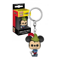 FUNKO LLAVERO .- MICKEY BRAVE LITTLE TAILOR