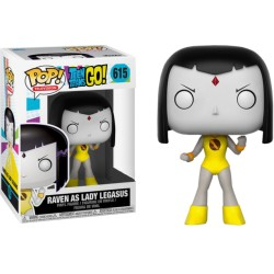 FUNKO POP TEEN TITAN GO - RAVEN ( LADY LEGASUS ) EXCLUSIVO