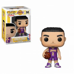 FUNKO POP NBA 2019 - LONZO BALL UNIFORME MORADO LAKERS