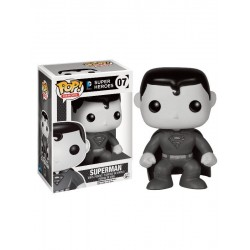 FUNKO POP SUPERMAN BLACK AND WHITE