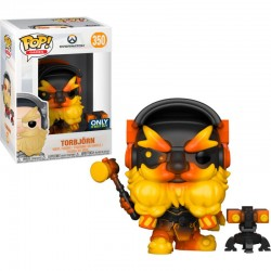 FUNKO POP OVERWATCH - TORBJORN MOLTEN CORE EXCLUSIVO
