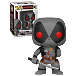 FUNKO POP DEADPOOL PLAYTIME EXCLUSIVE GRIS