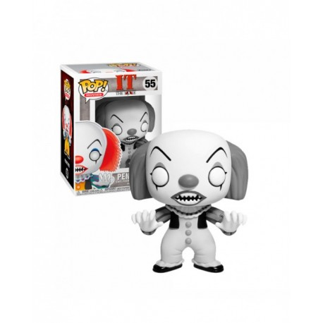 FUNKO POP PENNYWISE BLACK AND WHITE EXCLUSIVE