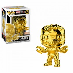FUNKO POP STAR LORD CHROME EXCLUSIVO