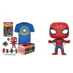 FUNKO POP MARVEL COLLECTOR BOX SPIDERMAN - TALLA M
