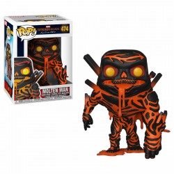 FUNKO POP SPIDER-MAN FAR FROM HOME - MOLTEN MAN