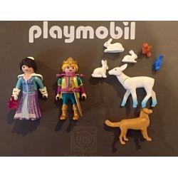 PLAYMOBIL PRINCIPES DEL HIELO CON ANIMAL Y ACCESORIOS EN BOLSA CERRADA