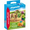 PLAYMOBIL 70060 ESPECIAL PLUS NIÑA CON PONY