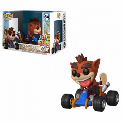 FUNKO POP CRASH TEAM RACING BANDICOOT RAIDER