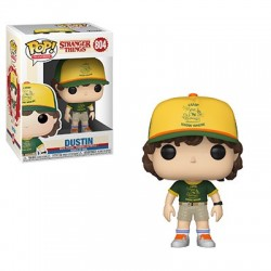 FUNKO POP STRANGER THINGS SERIE 3 - DUSTIN ( AT CAMP )