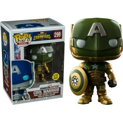 FUNKO POP CIVIL WARRIOR EXCLUSIVE GLOW IN THE DARK