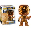 FUNKO POP MARVEL - THANOS CROMADO COLOR COBRE