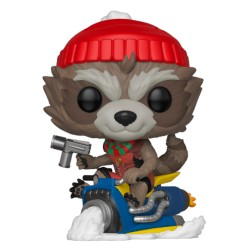 FUNKO POP MARVEL HOLIDAY 2019 - ROCKET